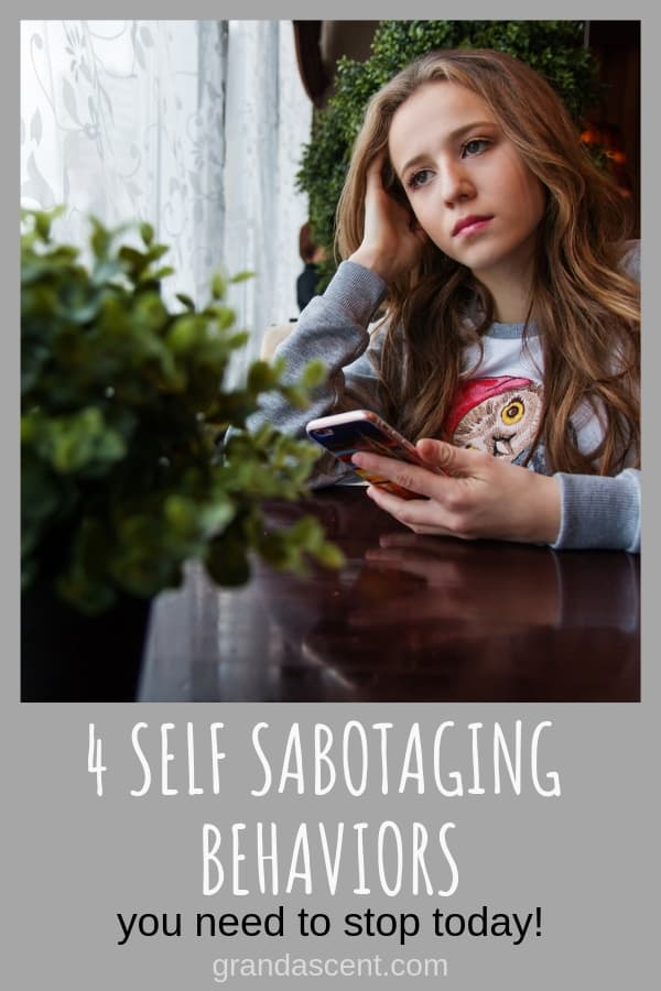 If you aren't hitting your goals for your career, finances or relationships, you could be sabotaging yourself. Believe in yourself! Take action towards eliminating self sabotaging behaviors and get the life you always wanted. #selfsabotage #confidence #becomesuccessful #inchargeofyourlife #betterlife #successful #ilovemylife #grandascent