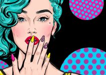 Girl fashion - pop art style