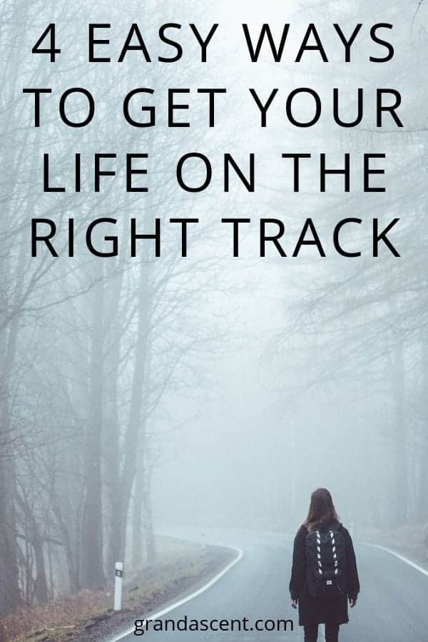 Ways to get on the right track again, when you feel like you've lost your way. #selfconfidence #selfcare #selfassesement #lifestruggles #lostmyway #struggling
