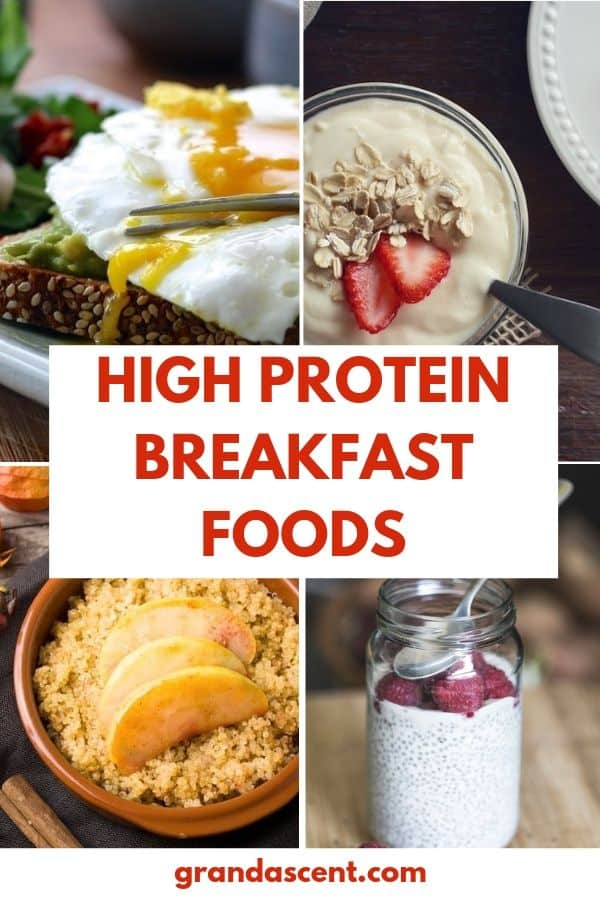 High protein breakfast foods