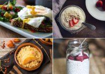Protein rich breakfast food