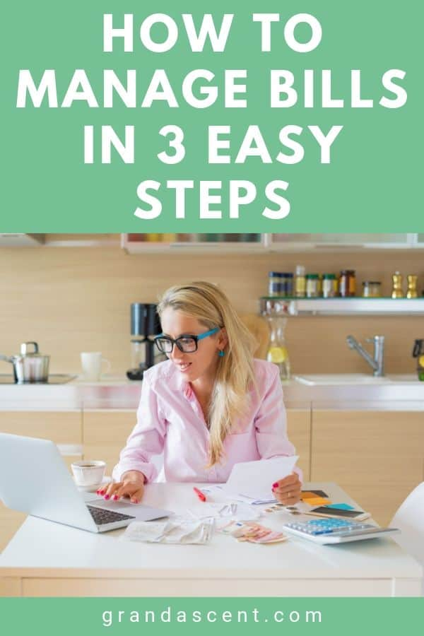 How to manage bills in 3 easy steps