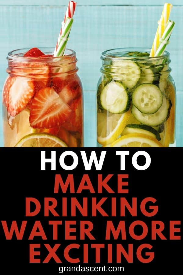 Drinking water - infused fruit water
