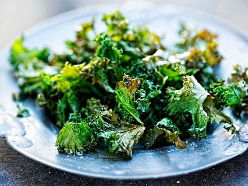 Plate of kale