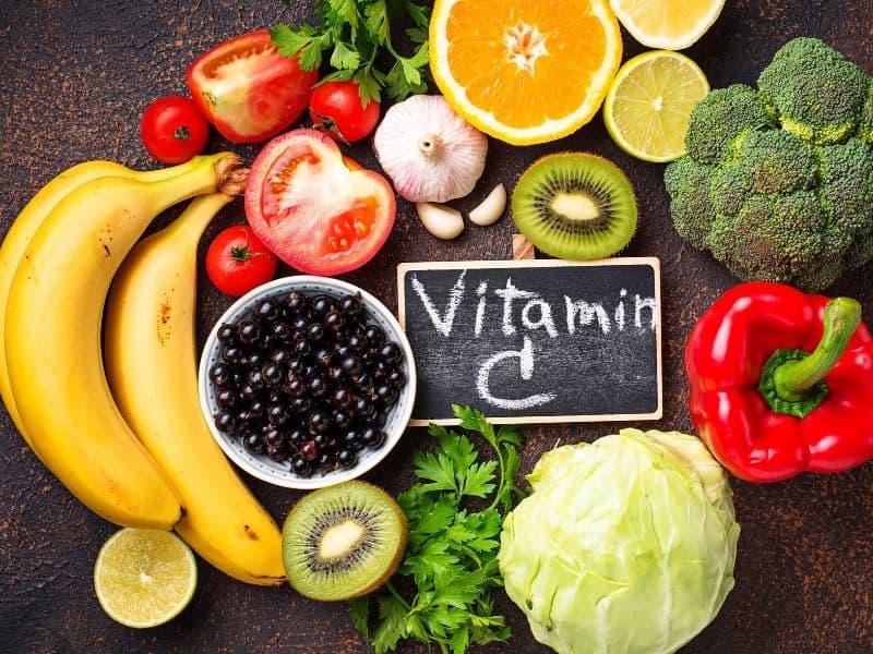 Foods containing vitamin c