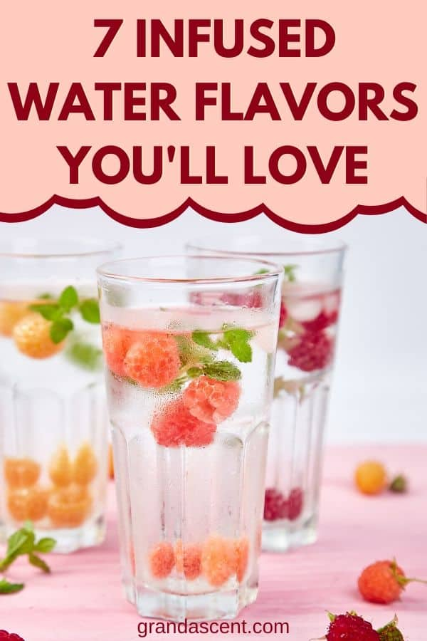 Infused water flavor ideas