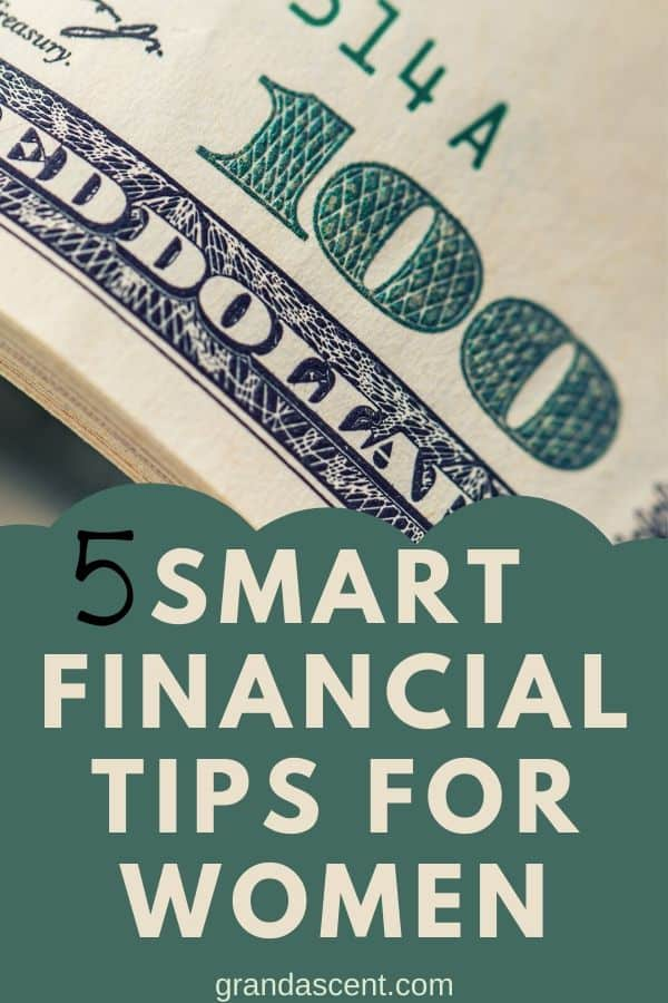 Every women needs to learn to handle money correctly. Here are 5 smart financial tips for women who love to keep a handle on their money. #financialtips #money #smartmoneytips