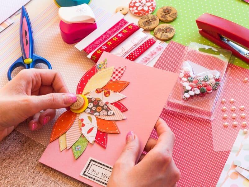 Card making supplies