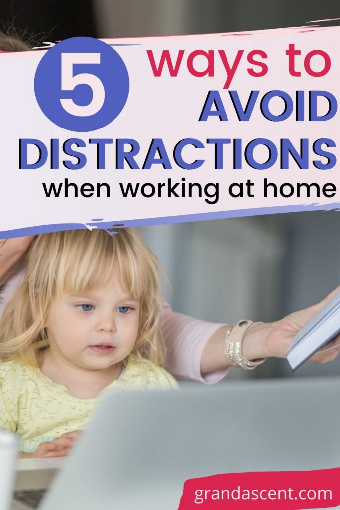 5 ways to avoid distractions when working at home