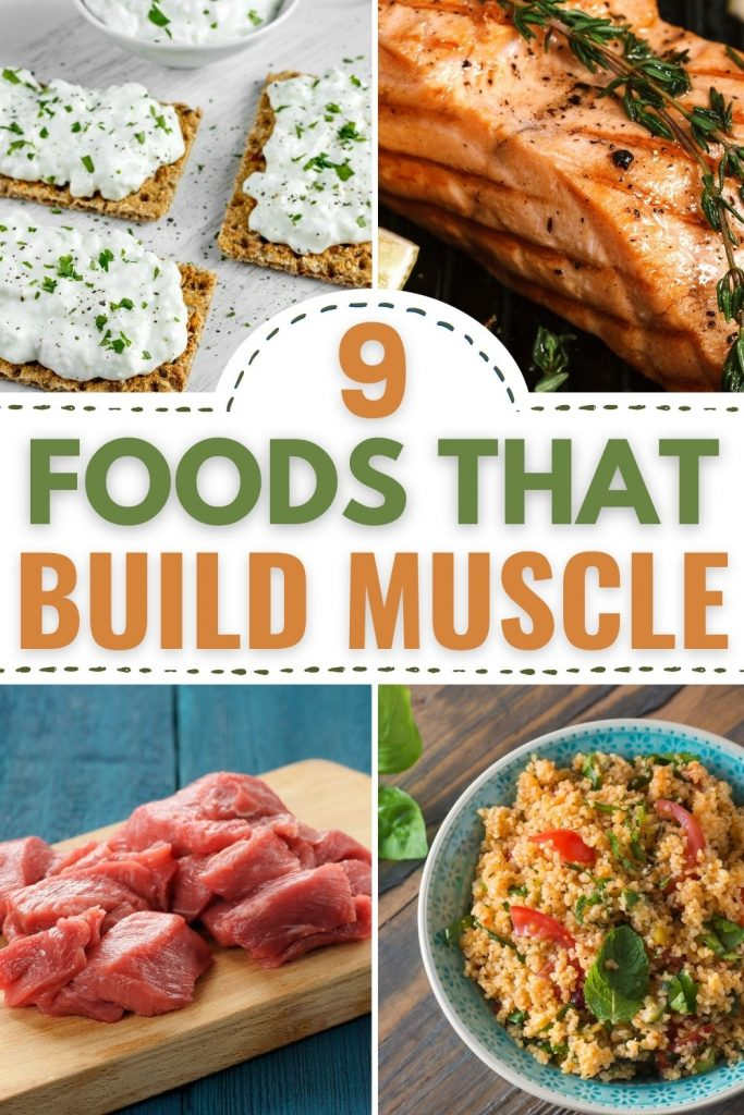 9 foods that help build muscle fast