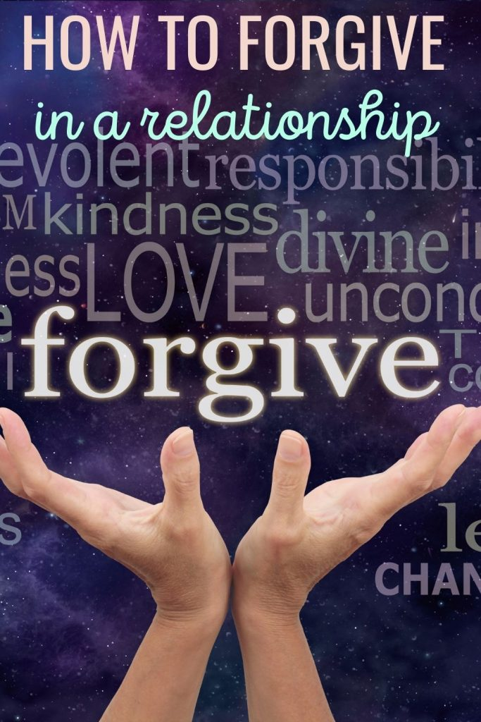 How to forgive in a relationship