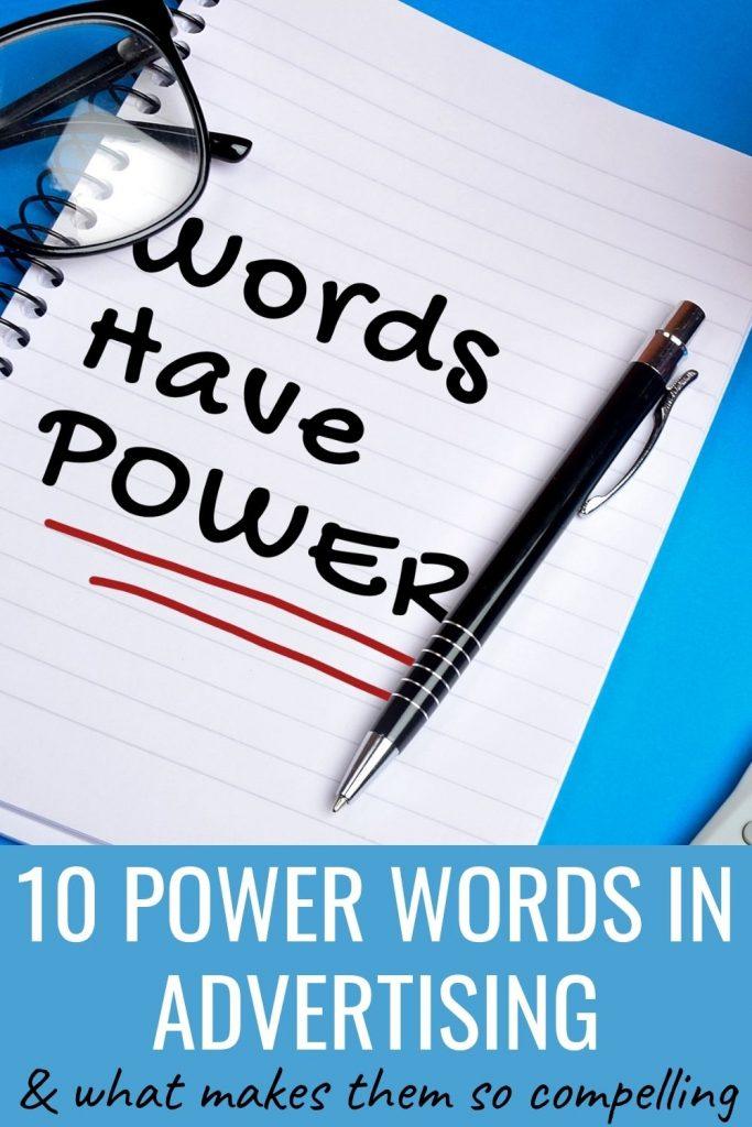 10 power words in advertising